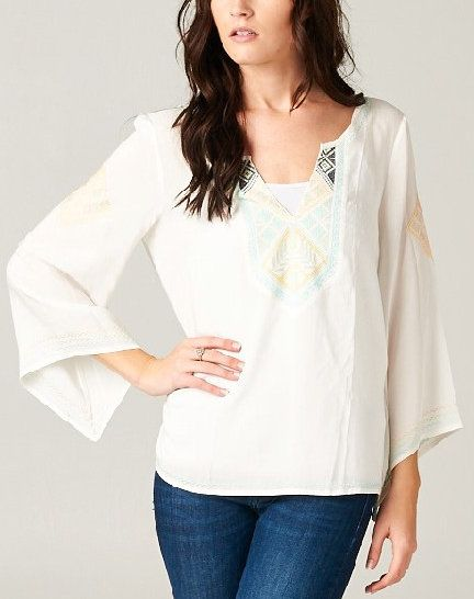 Embroidered Ashley Tunic