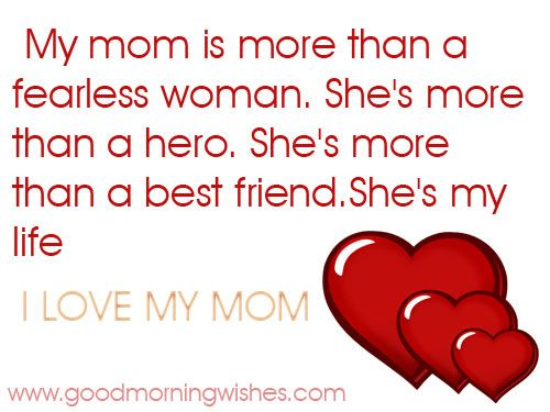 Mother quotes i love my mom desserts and food for Best quotes about mother