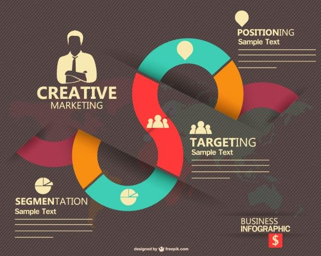 Marketing Infographic Design Free Vector | Free Vectors ...