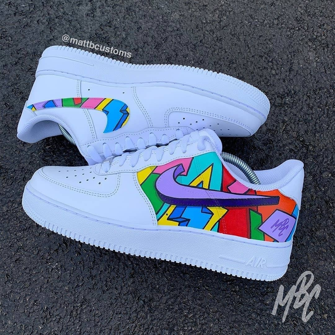 The Custom Movement On Instagram Cartoon Freestyle Af1 Want A