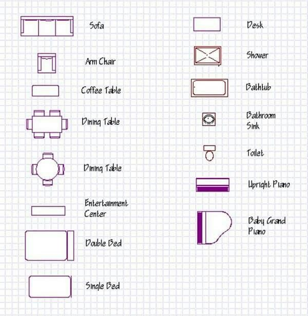 Pin By Avvi R On Student Housing Program House Design Drawing Interior Architecture Drawing Floor Plan Symbols
