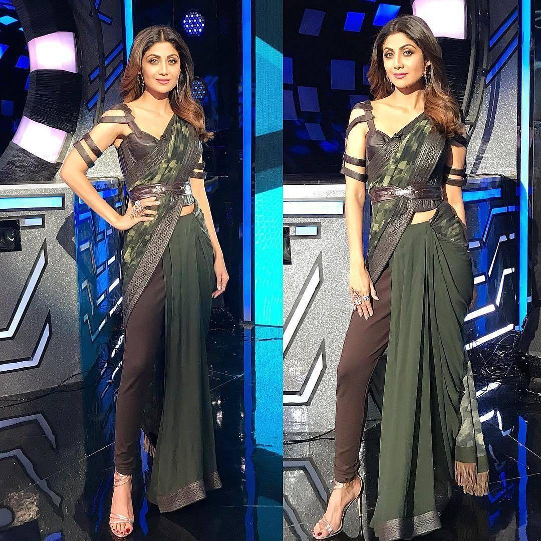 ad7410f814 Saree With Pants, Indian Designer Suits, Saree Draping Styles, Drape Sarees,  Organza