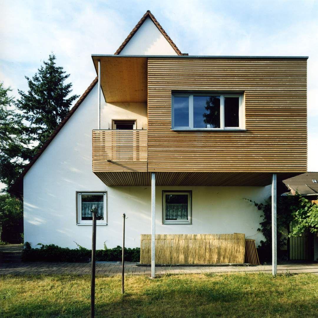 Ideen Fur Einen Hausanbau Erweiterung Einer Doppelhaushalfte Als
