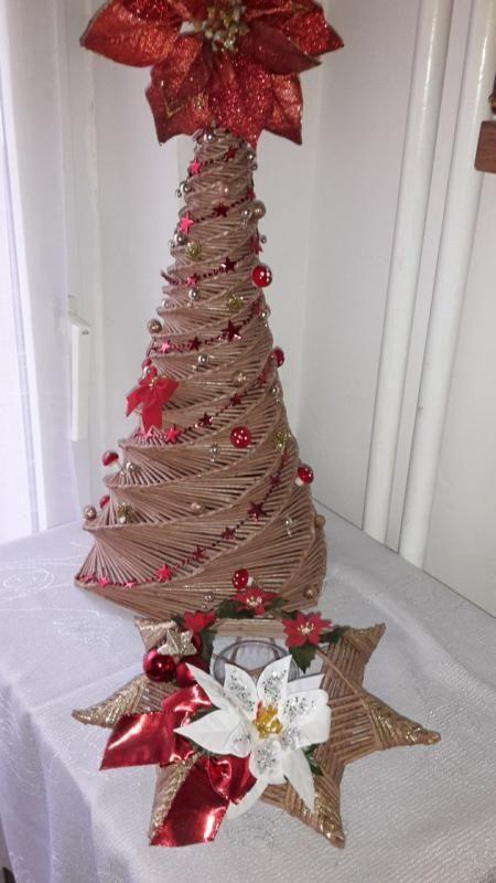 fd7f23a63 Stromček s hviezdičkou pre kamarátku | Vianočné dekorácie ...