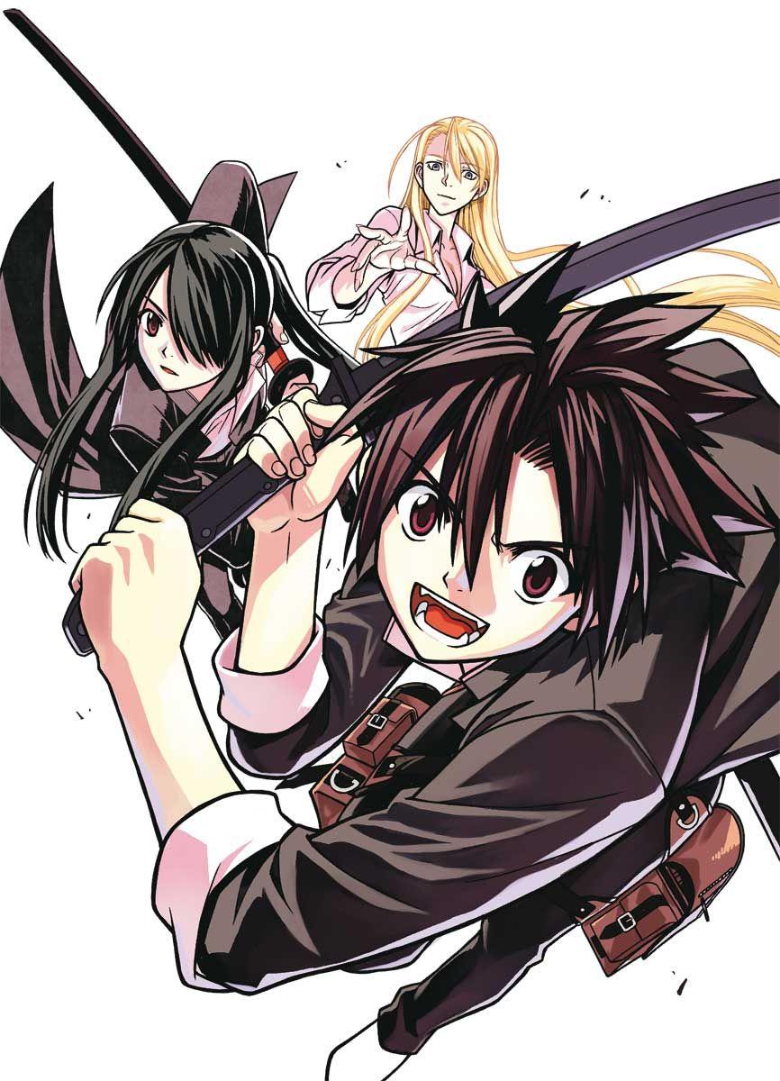 UQ Holder HQ Manga Poster