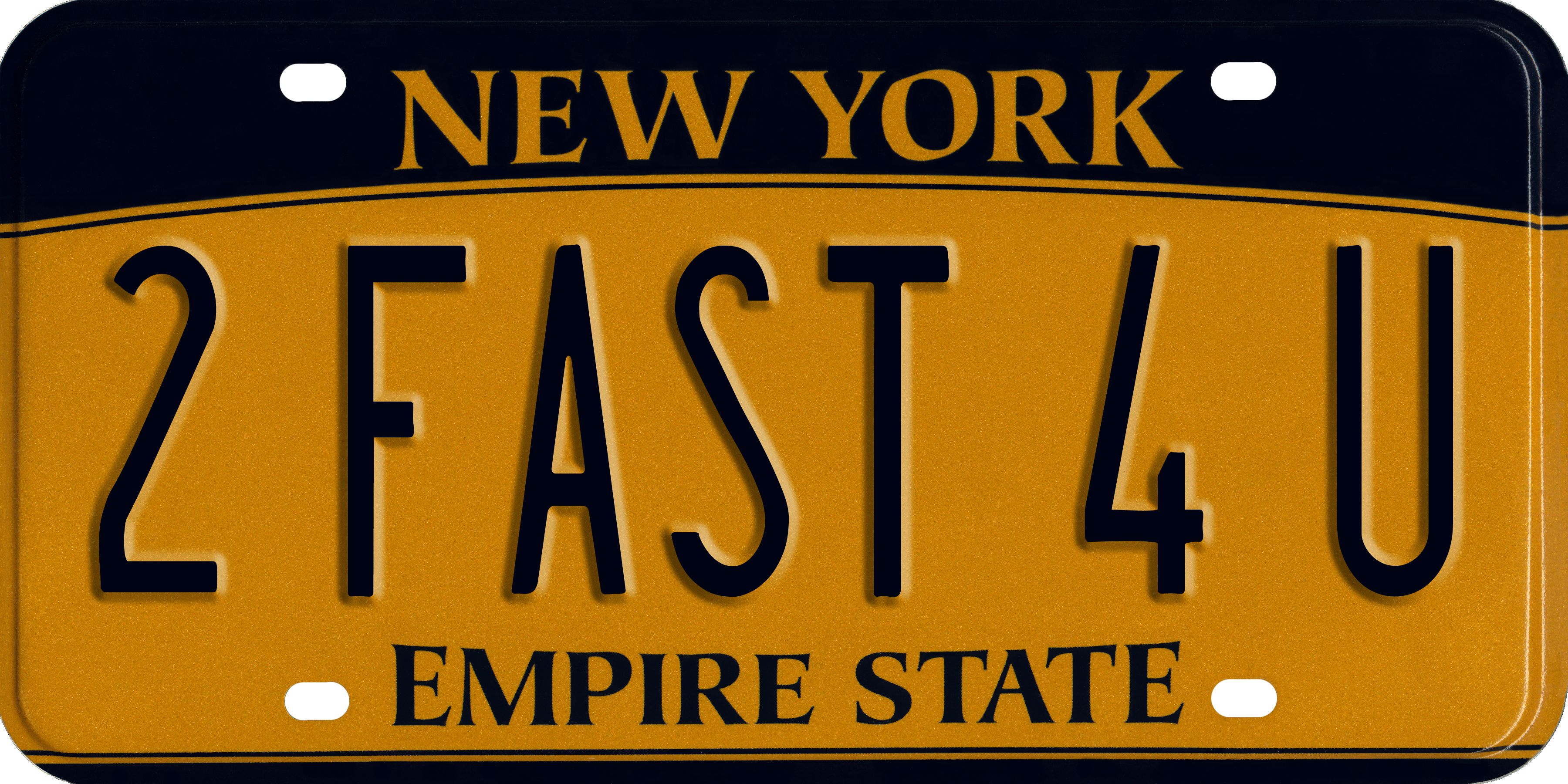 Decals/emblems/license Frames Personalized Custom New York State License Plate Any Name Novelty Auto Car Tag