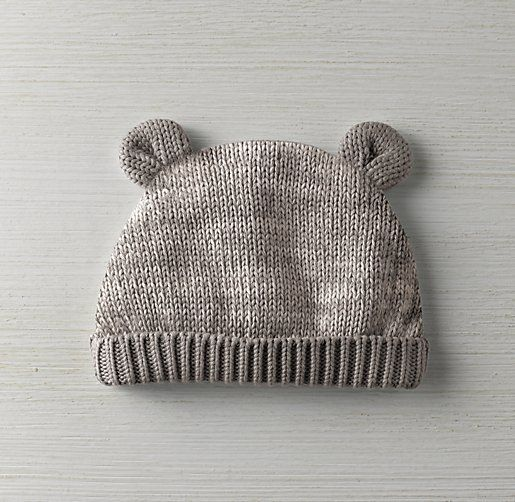 6a5eae3b2e9 Heathered Organic Cotton Knit Baby Hat. For my nephew!