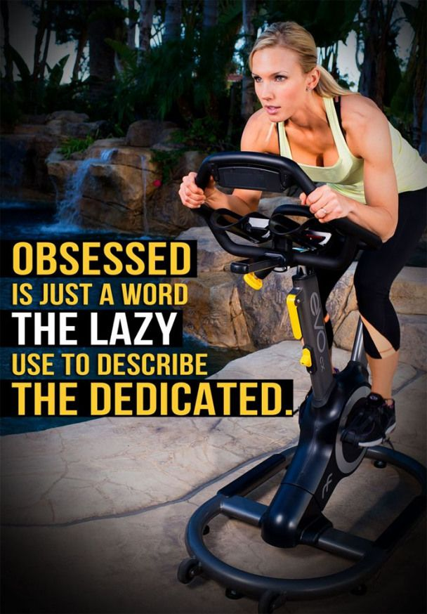 Obsessed is just a word the lazy use to describe the dedicated. #fitness #motivation #inspiration #f...