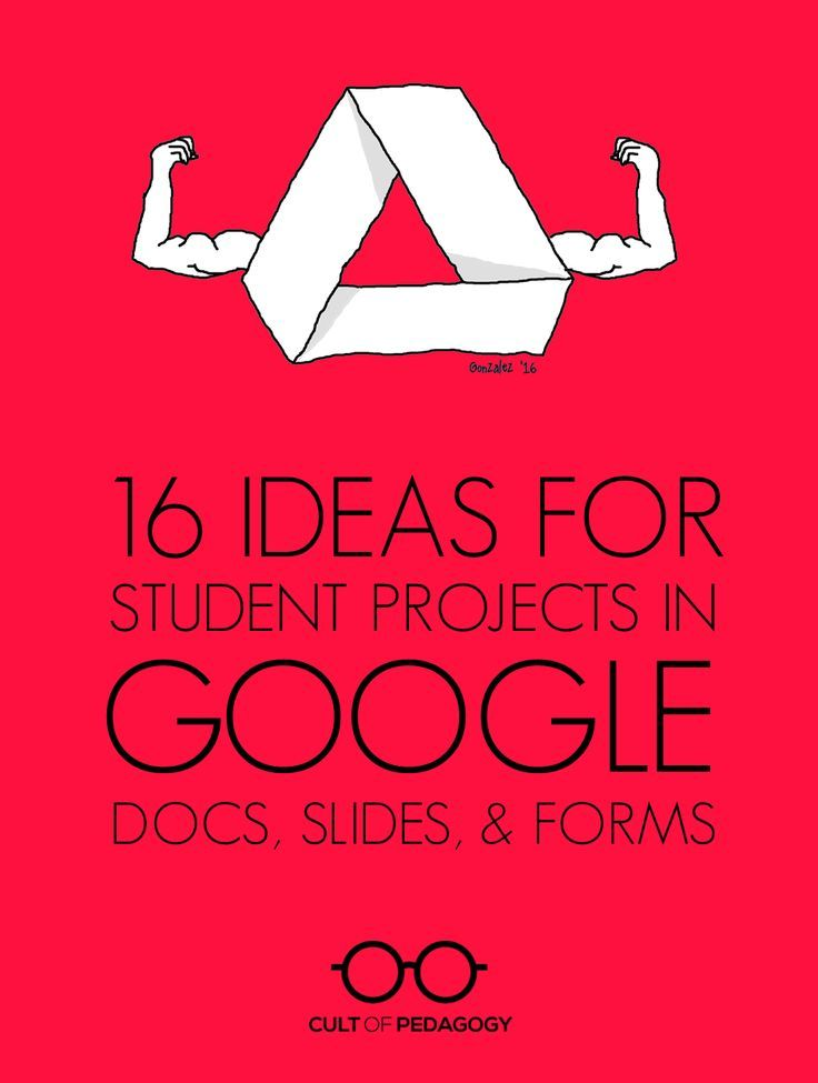 16 ideas for student projects using google docs slides and forms your students probably already use these tools to write papers or create presentations but they fandeluxe Image collections