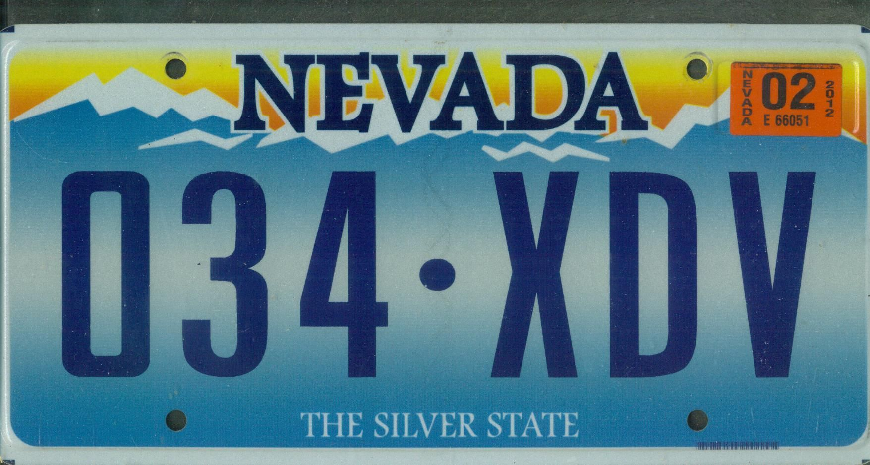 Nevada license plates nevada links county codes for Alberta motor vehicle registration