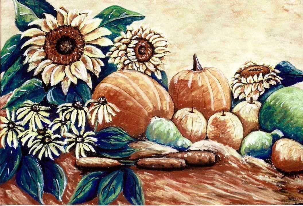 Pastel Art, Painting, Pastel