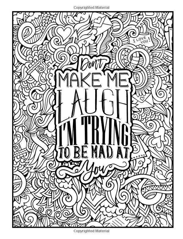 Married Life: A Snarky Adult Coloring Book (Humorous Coloring ...