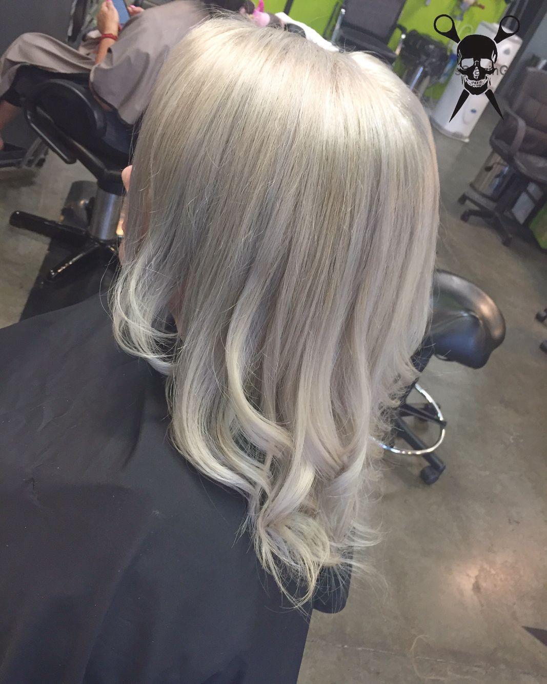 Silver White Hair Artistic Hair Silver White Hair Hair