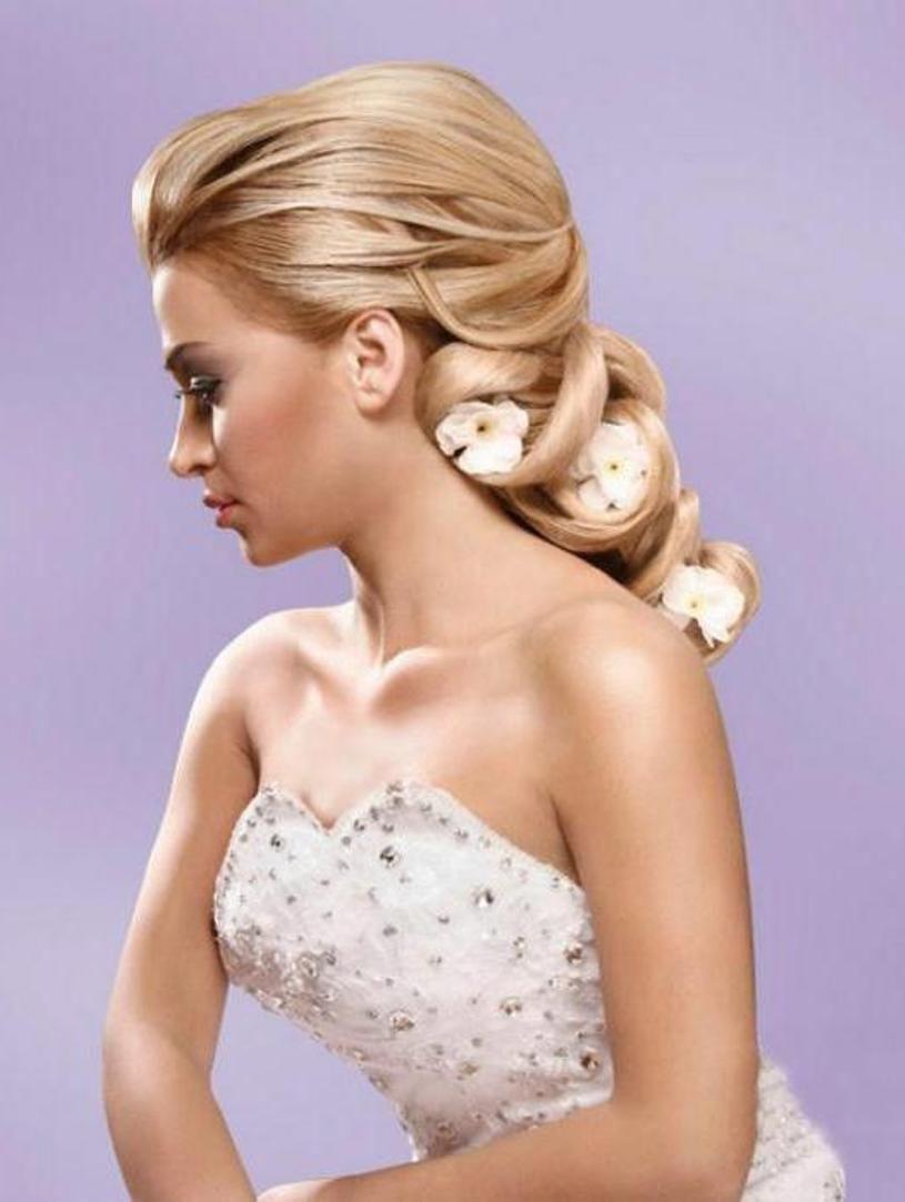 Wedding hairstyles for long hair hair pinterest