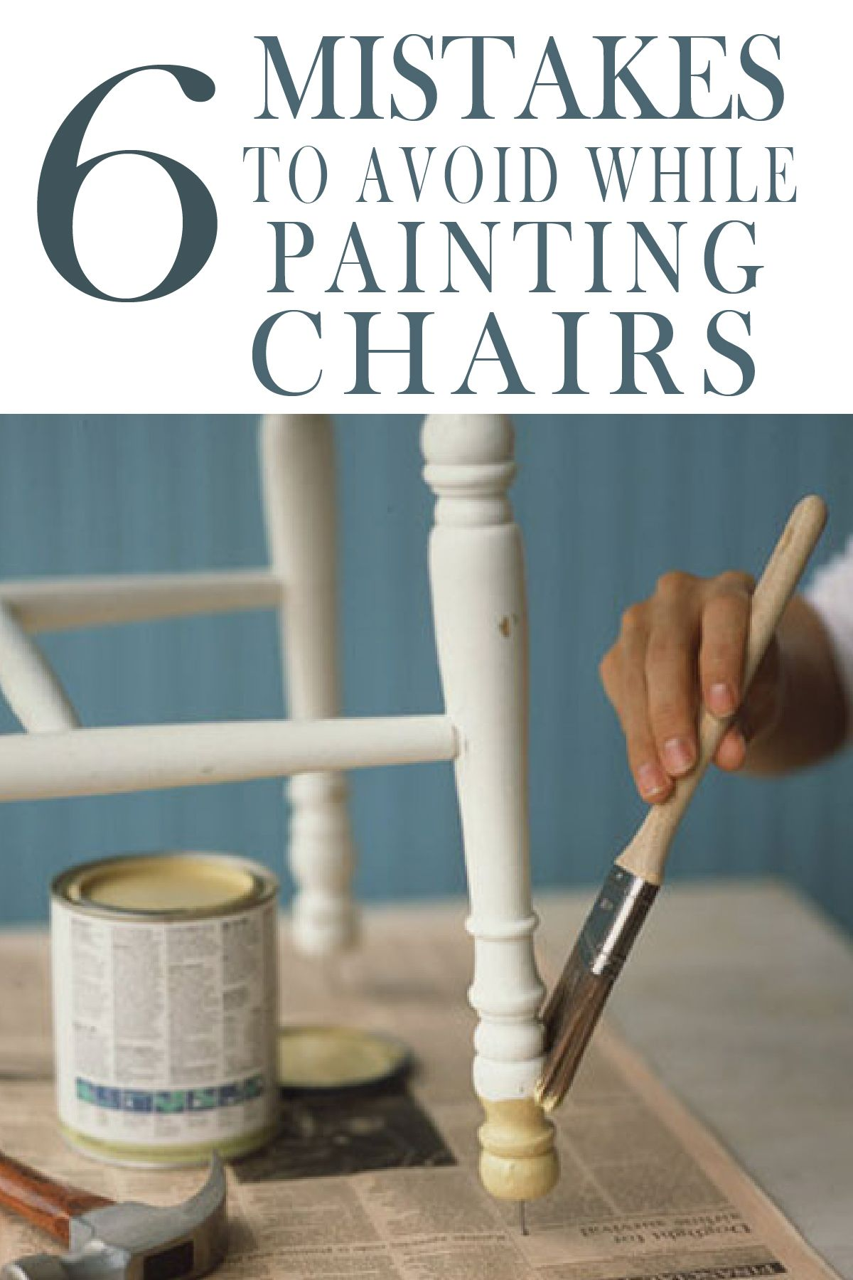 7 Mistakes People Make Painting Kitchen Chairs  Painted Furniture Ideas is part of Painted kitchen tables - Painting kitchen chairs is like riding a roller coaster  Learn for others mistakes before you start your diy project, and get beautiful results!