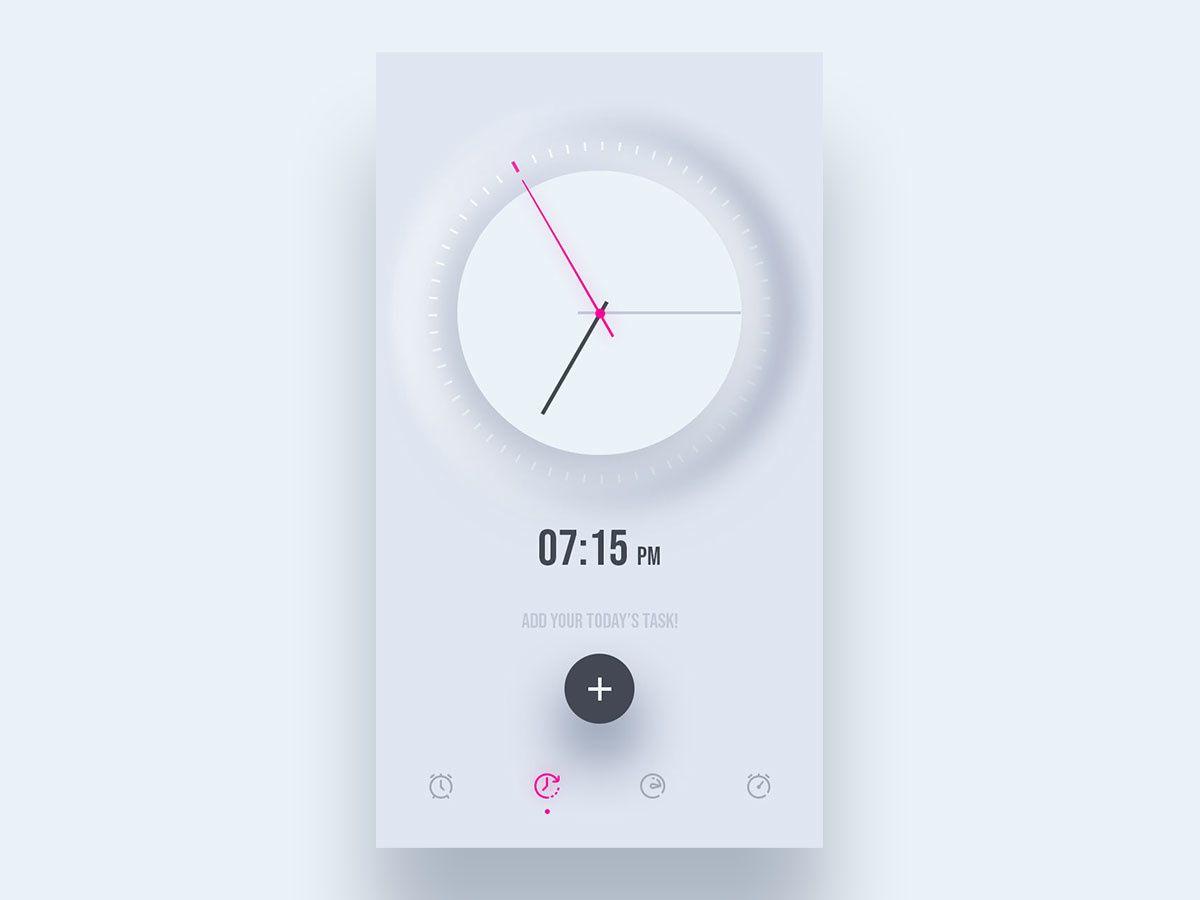 Pin by Lin Yang on Kindling Clock, Alarm clock, App design