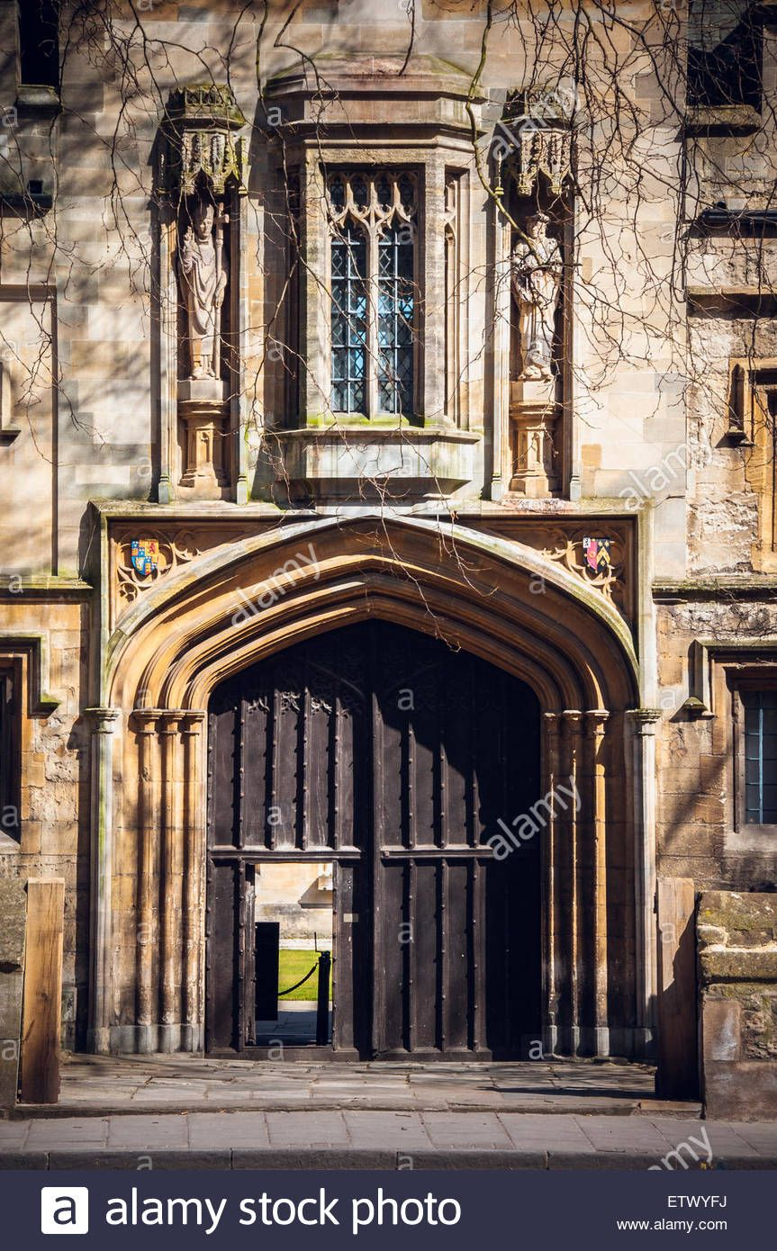 vintage-doors-and-gates-of-oxford-balliol-college- & vintage-doors-and-gates-of-oxford-balliol-college-united-kingdom ...