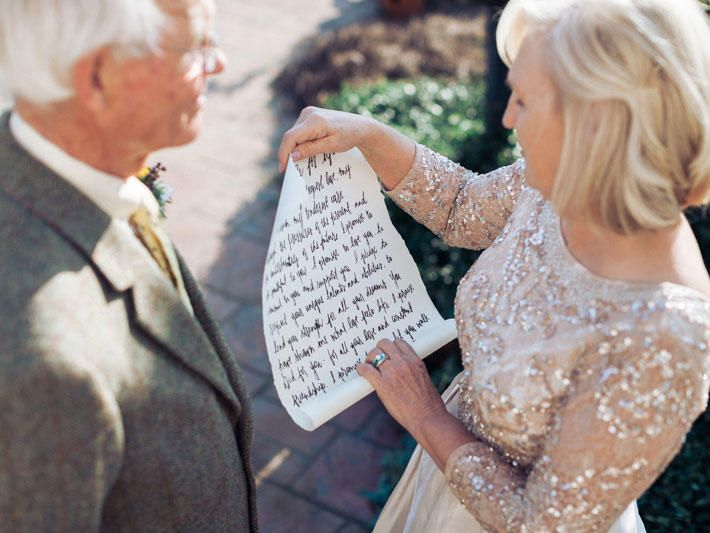 This Rustic 50th Anniversary Vow Renewal Is Why We Love What Do