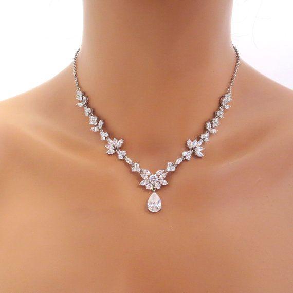 Bridal Jewelry Set Wedding Necklace