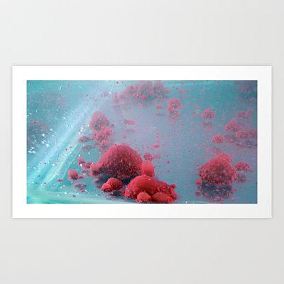 Alien world 2 Art Print by paul bellaby - $15.60