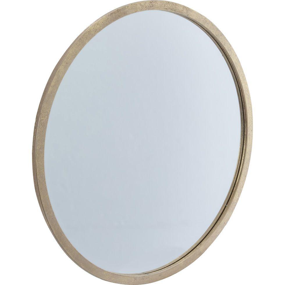 Antique Gold Higgins Round Mirror 24x24 Quot Home