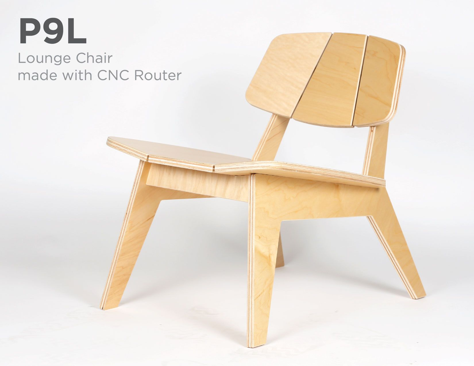 P9l Lounge Chair Alejandro Palandjoglou Cnc Furniture Plans Plywood Chair Chair