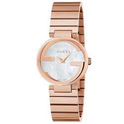 8c8bab913c606 Relógio Gucci Feminino Aço Rosé - YA133515