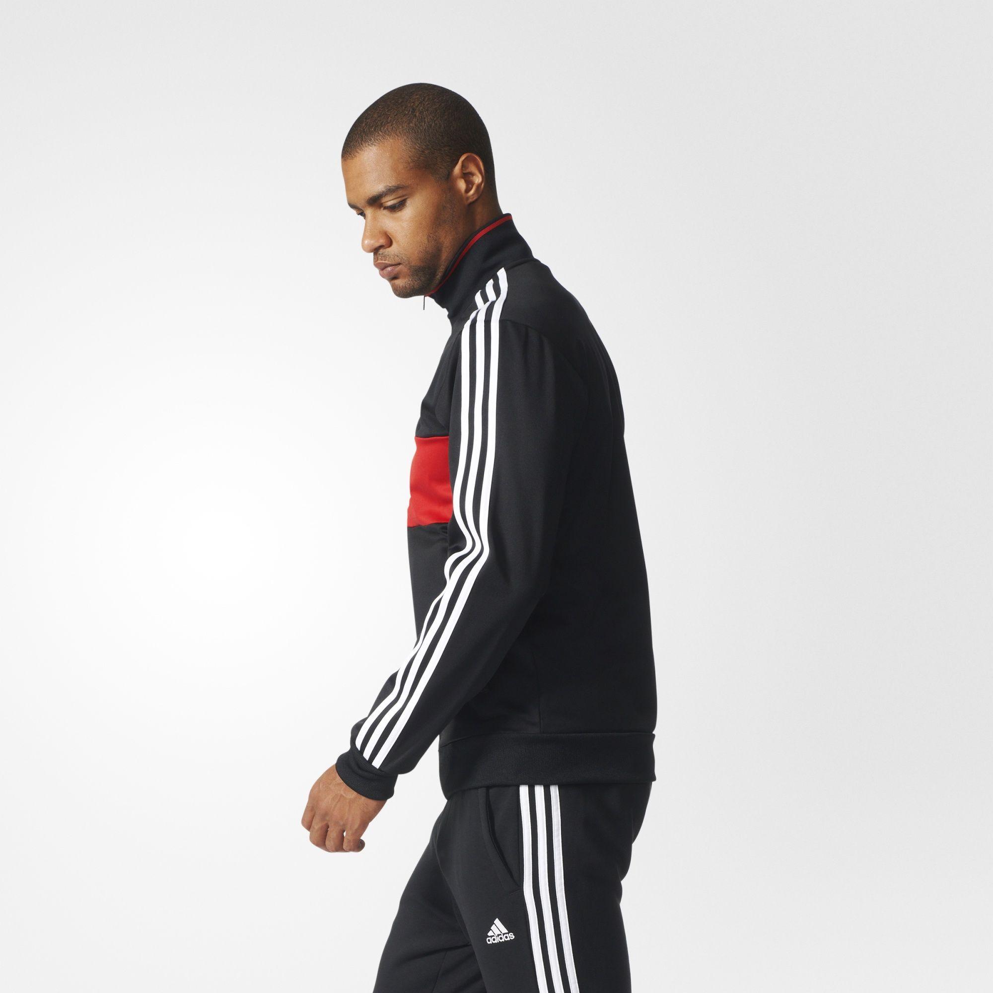 625170240f6 adidas - Manchester United 3-Stripes Track Jacket