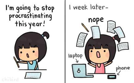 Resultado de imagen para tumblr procrastination