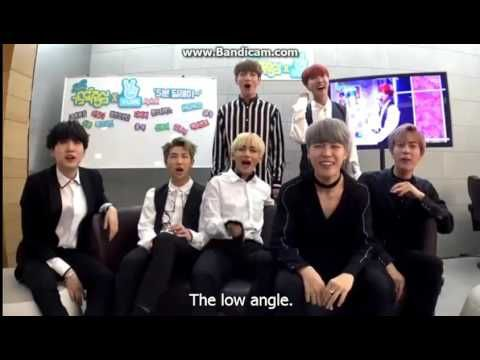 ENG SUB] 102216 BTS reaction on Music Core (with GOT7