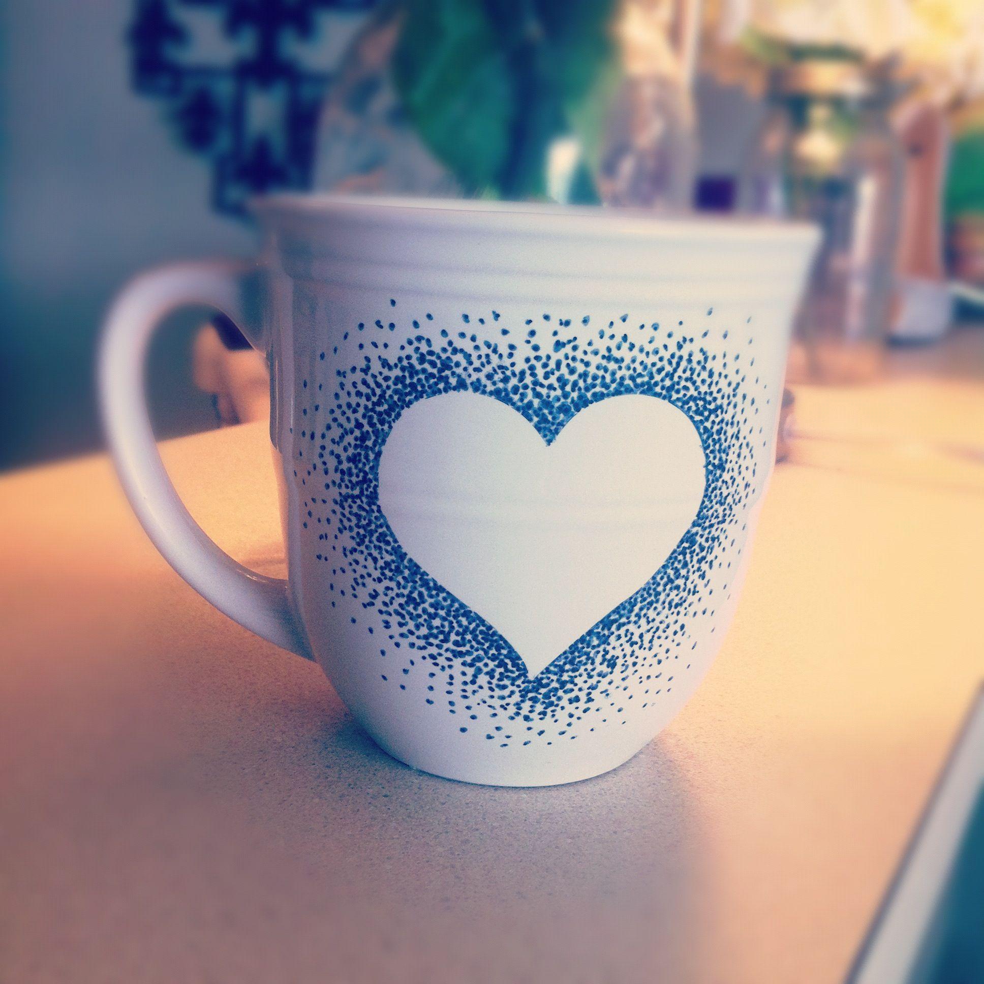 Diy Cup Design Sharpie Mugs