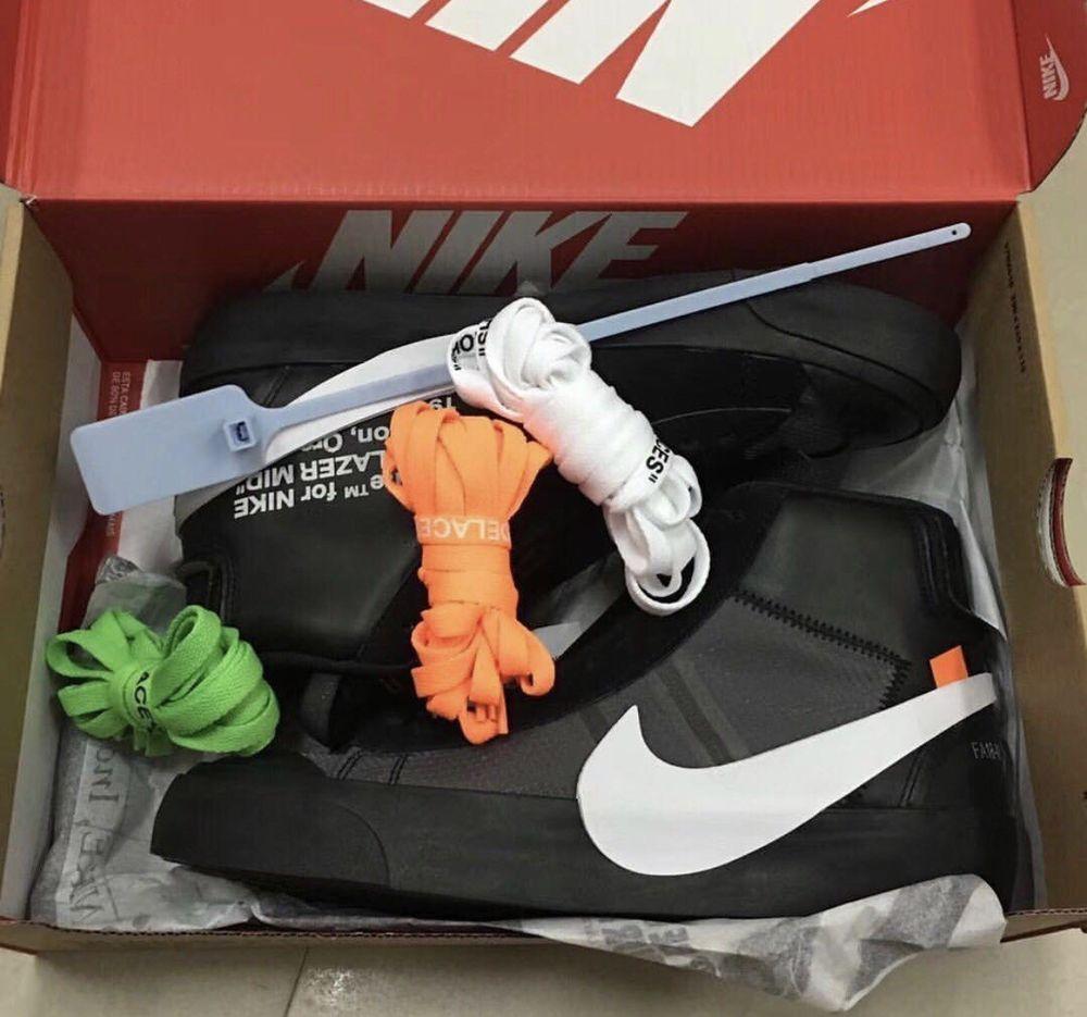 tonto Anunciante Gasto  Off-White x Nike Blazer Mid