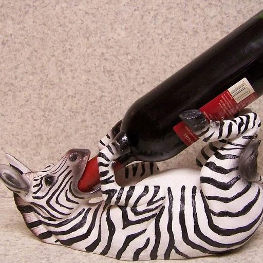 Zebra Wine Bottle Holder Got This For Christmas As Well Even Cuter In Person