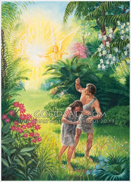 Adam And Eve Must Leave The Garden Of Eden From The Moment Of Their Education Bible