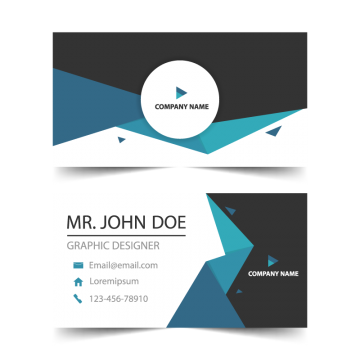 Business Card Business Cards Vector Templates Vector Business Card Corporate Business Card