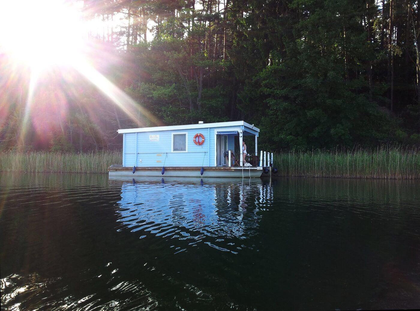 BunBo 990D Hausboot, Hausboot mieten, Style at home