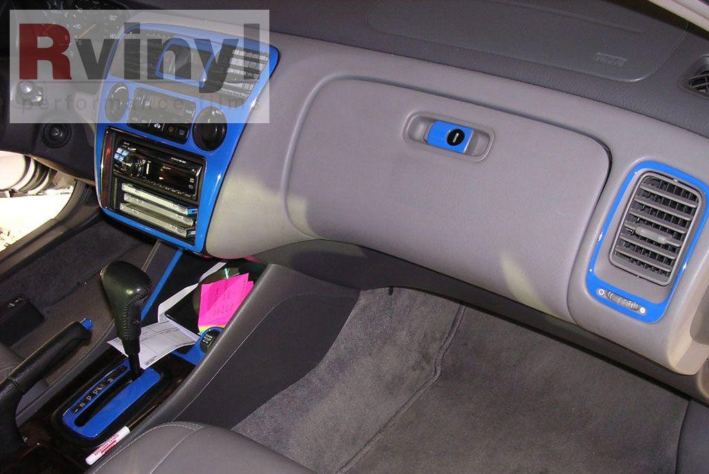2015 Honda Fit Blue Interior Dash Control Panel Kits Google Search Interesting Products