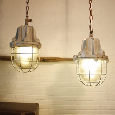 Industria Rotterdam Factory Bully Lamps. Sold At Www.loftandsound.com