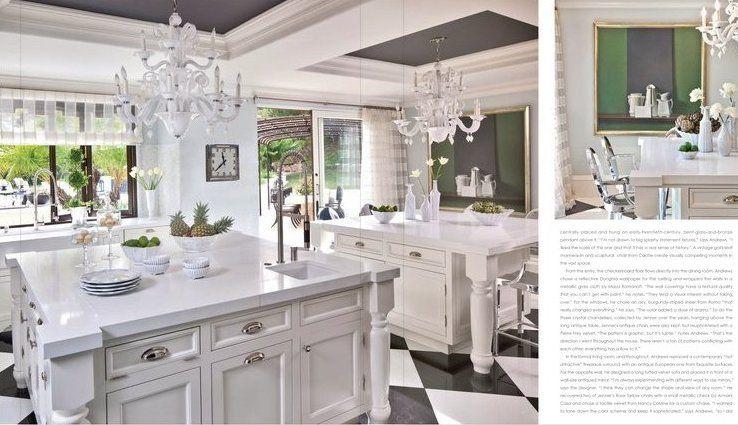 Beau Bruce And @KrisJenner U0027s Kitchen Designed By @JeffAndrewsDsgn