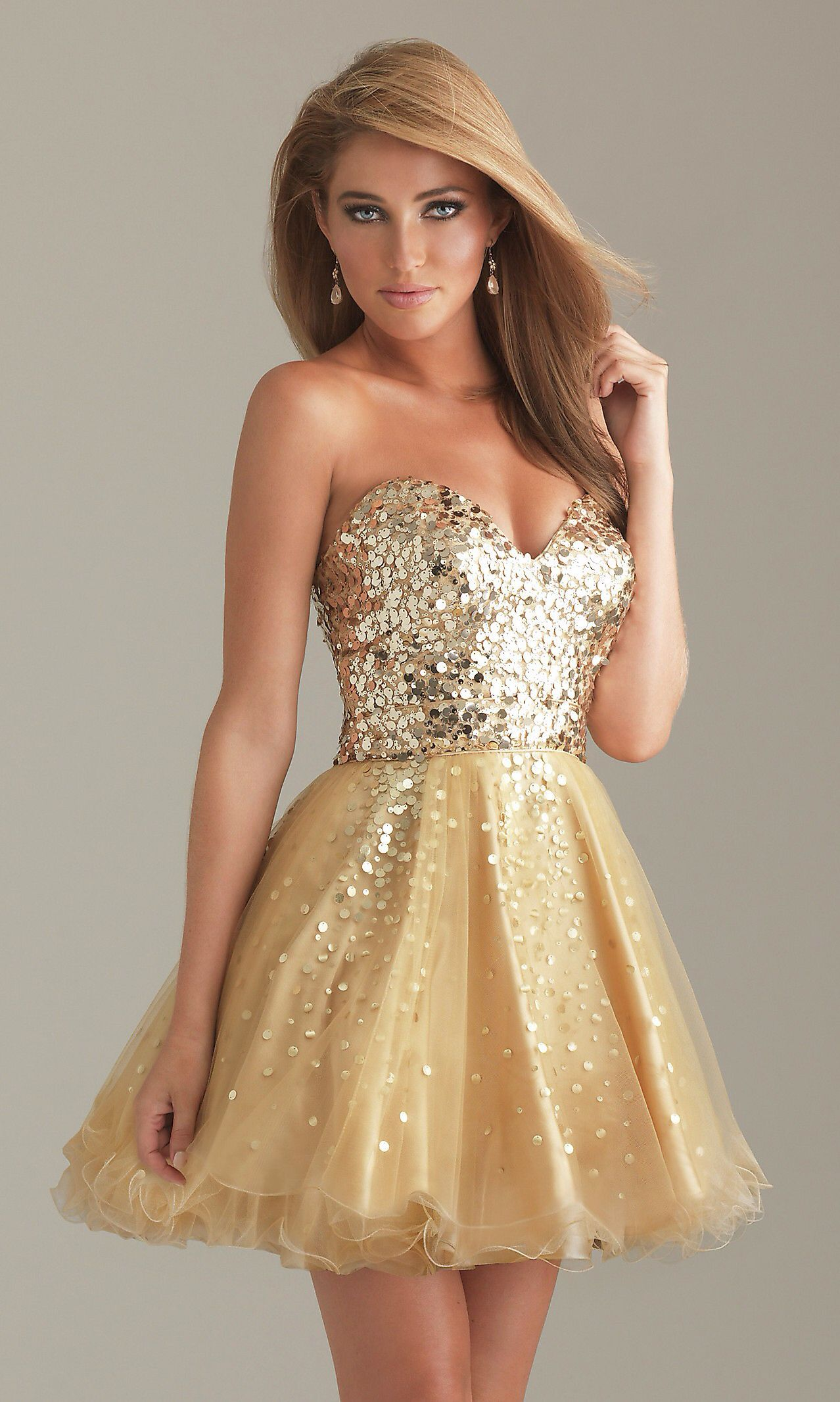Gold and sparkly homecoming pinterest homecoming and gold