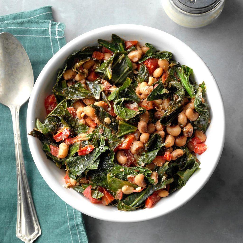 BlackEyed Peas with Collard Greens Recipe Collard