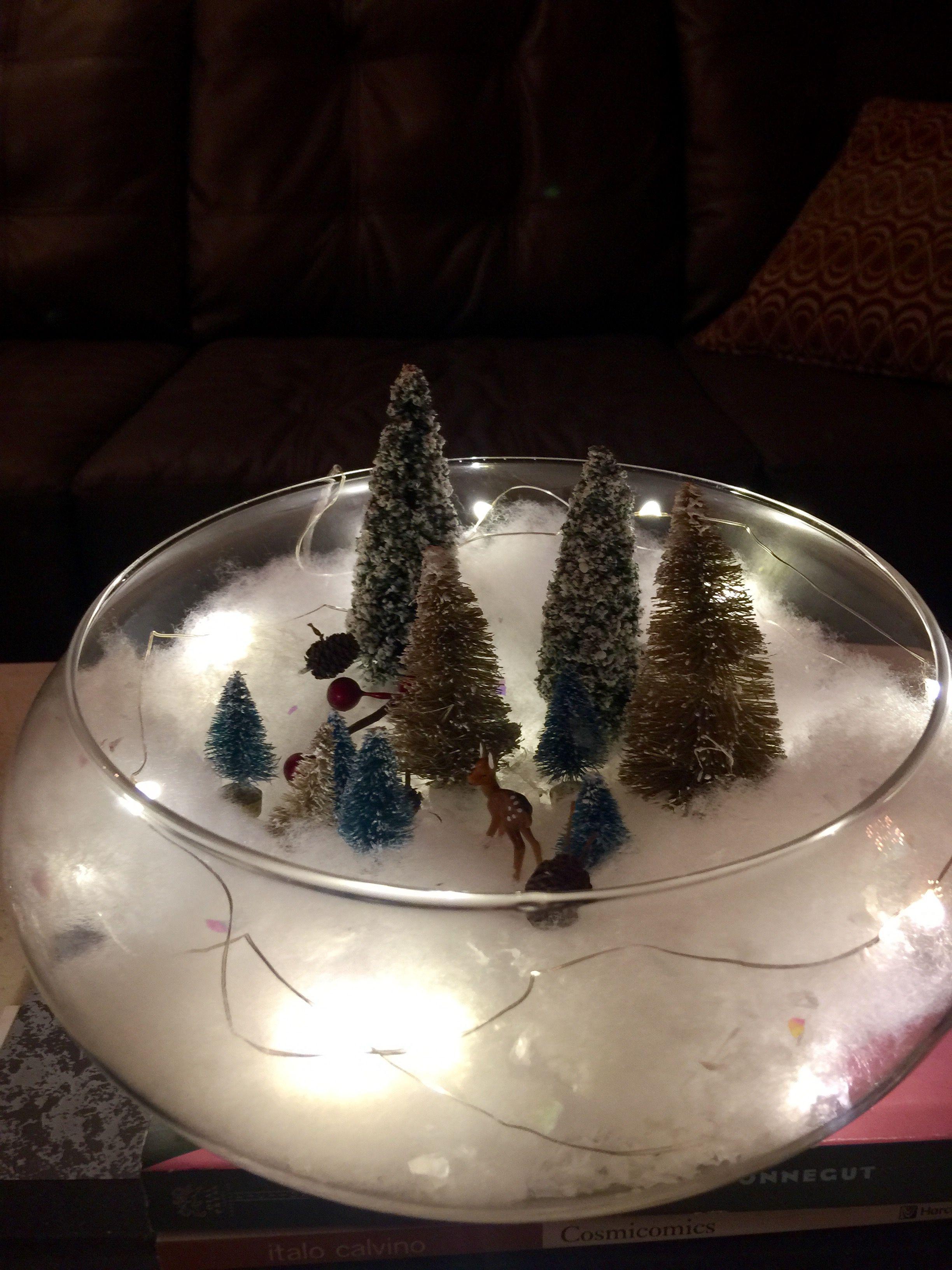 Christmas Terrarium Christmas Candle Decorations Christmas
