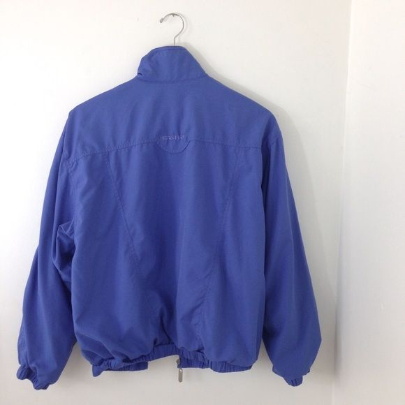 Blue Sports Jacket Lightweight royal blue sports jacket size S could fit M, vintage jacket, perfect for a rainy summer day! Jackets & Coats Utility Jackets