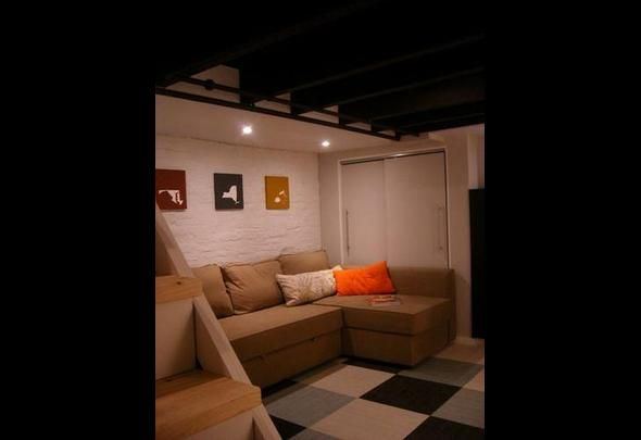 10 Easy Ways To Fake A Finished Basement Unfinished Bedroom Remodeling Bedrooms