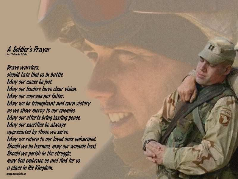 Soldiers Prayer | collin raye a soldier s prayer http www ...