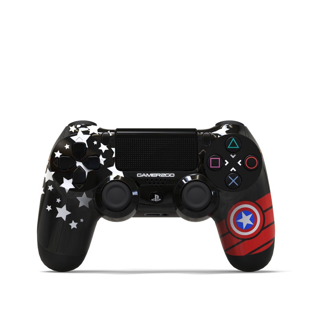 The Patriot Ps4 Controller In 2020 Star Wars Xbox One Ps4 Controller Custom Star Wars Xbox