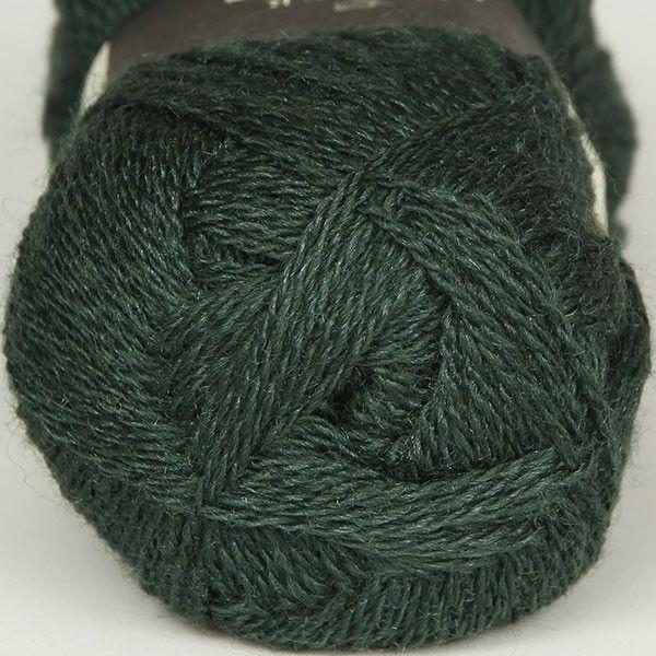 Highland Silk Bottle Green - Highland Silk - Isager garn