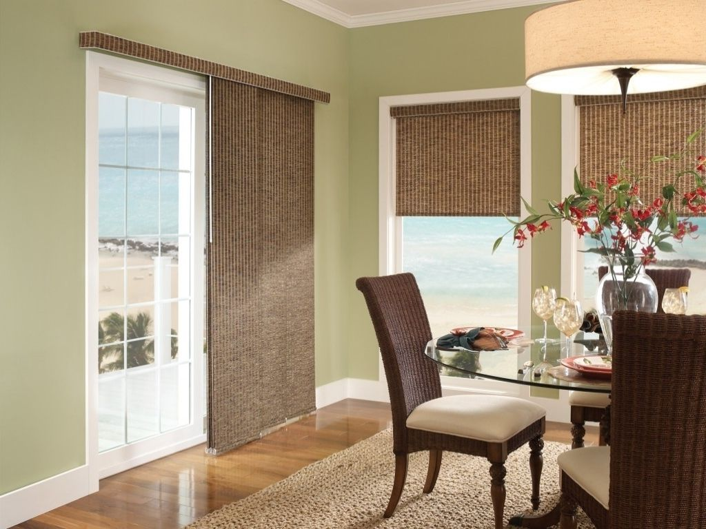 Interior Traditional Blinds And Shades For Sliding Doors Also Sliding Panel Window Treatments For Sliding Glass Doors From 4 Tips For Selecting Blinds Of Slidi