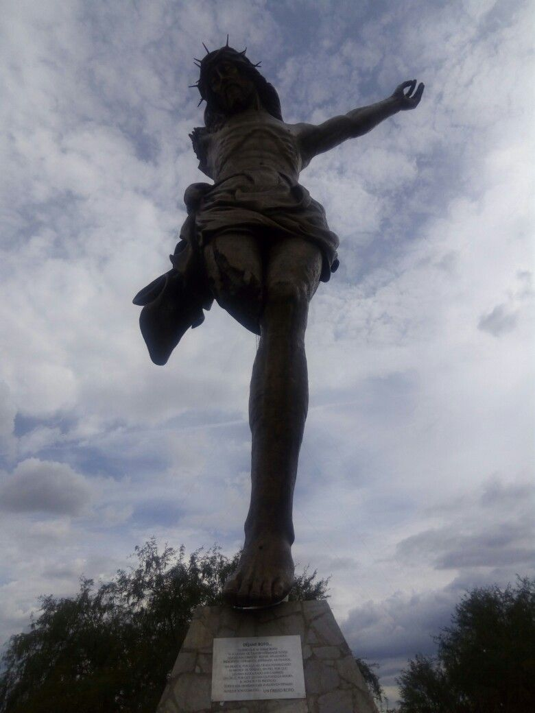 El Cristo Roto San Jose de Gracia,  Aguascalientes,  Mexico