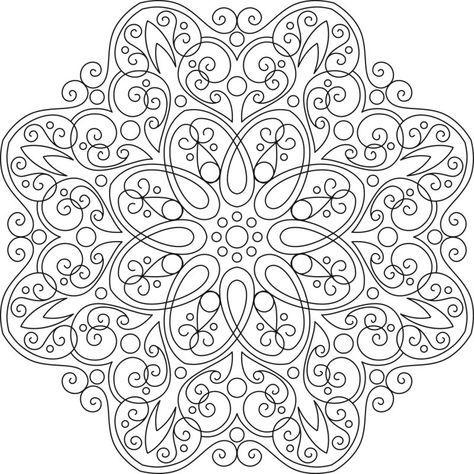 Mandalas Para Colorear Dibujos Mandalas Para Imprimir Con